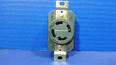 Replacement Wall Receptacle 30 Amp 125250 Volt Twist Lock 4 Prong Nema L14-30r