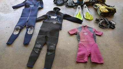 Full diving kit plus extras