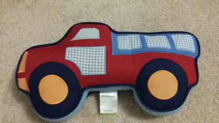 Sheridan decorative truck pillow