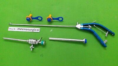 Storz Type Needle Holder Straight Jaw 5mmx330mm Laparoscopic Surgical Instrument