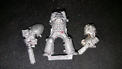 Warhammer 40k - Space Marine Assualt Cannon/Chainfist **Metal** OOP
