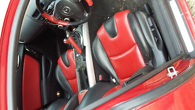 Mazda RX8 black/red leather interiorfull set seats cards