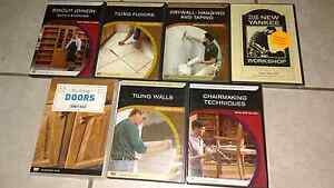 Various woodworking and tiling DVDs Durack Palmerston Area Preview