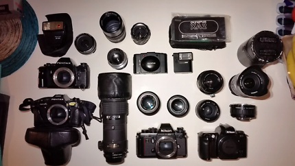 Mother of All film cameras and lens SALE!!