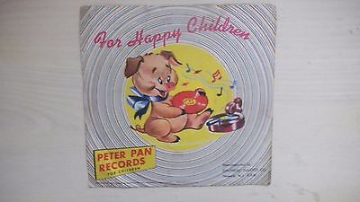 "Peter Pan Records ""OLD MACDONALD HAD A FARM"" 78rpm 1953"
