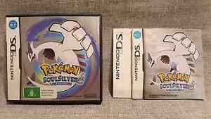 Nintendo DS Pokémon Soulsilver Version Box and Instructions Only Belrose Warringah Area Preview
