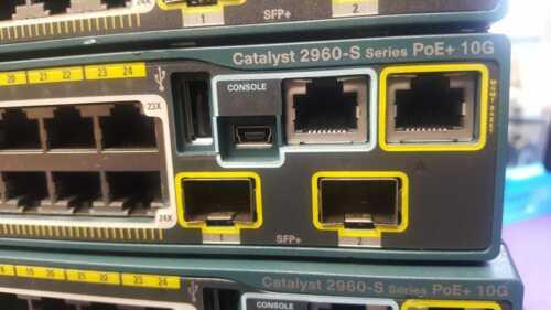 Cisco 2960 WS-C2960S-24 PD-L 24 Port PoE Gigabit Switch W/ STACK 10Gb SFP 2960s
