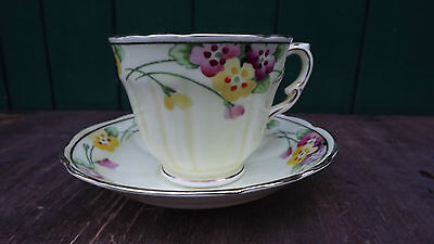 1930s Princess Mary the Princess Royal Crown Staffordshire Birks Cup & Saucer