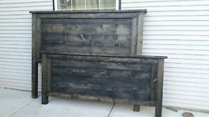 Handcrafted bed frame ACCEPTING OFFERS!