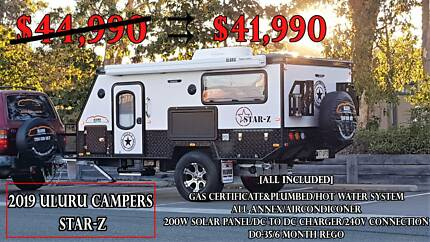 Off-Road POP-TOP Caravan STAR-Z : 2019 New Year Sale Kippa-ring Redcliffe Area Preview