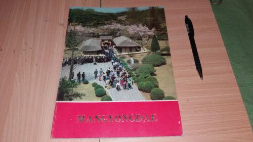 DPRK KOREA BOOK KIM LI SUNG MANGYONGDAE