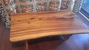 Coffee Table: solid wood Manly West Brisbane South East Preview