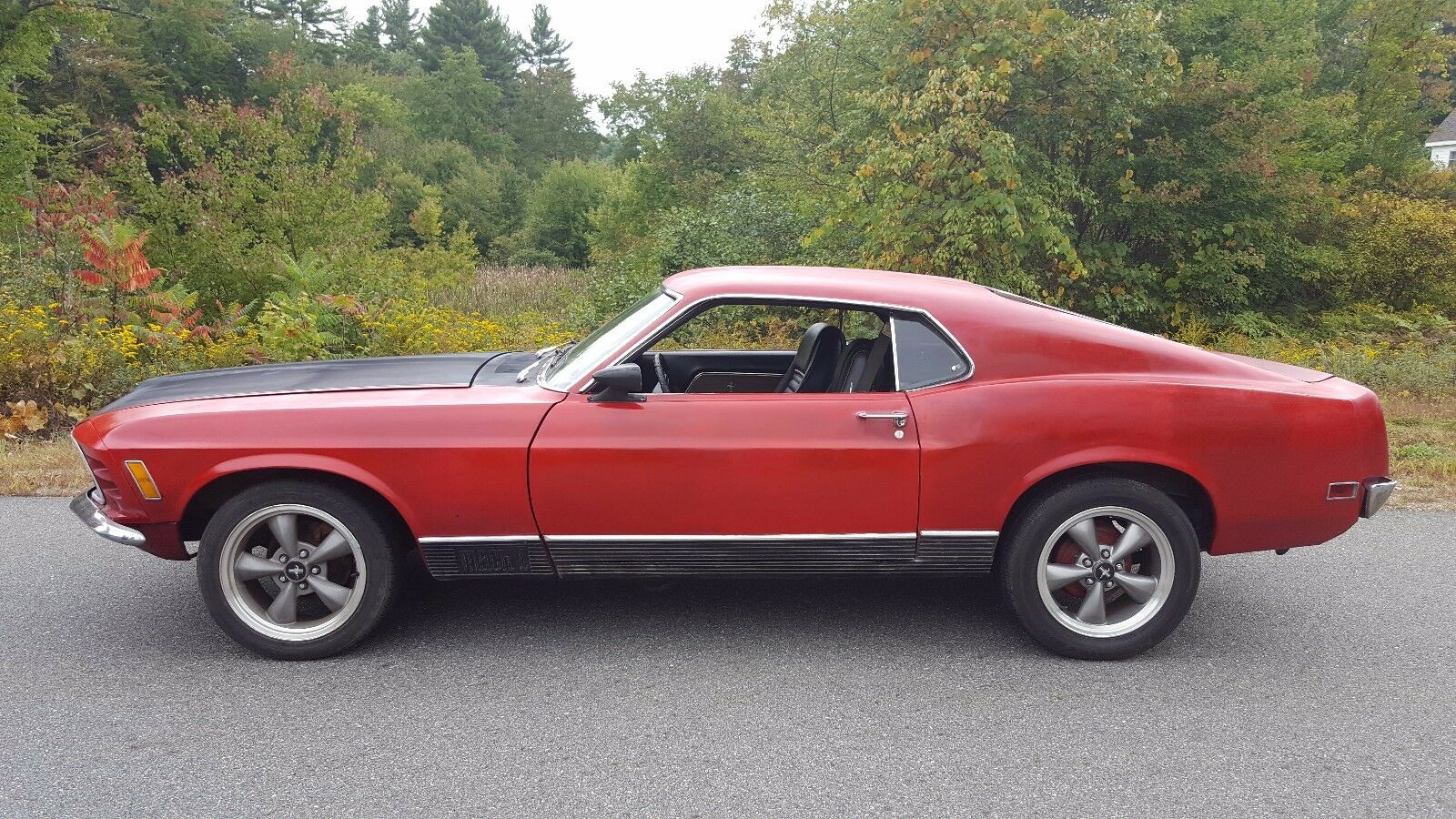 1970 Ford Mustang MACh 1 351 V8 4 speed Manual shift