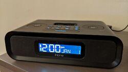 iHome iP97 Dual Alarm Clock Radio for iPhone and iPod - Black
