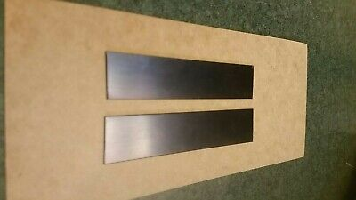 Blue Tempered Spring Steel 18 Inch X 0.015 Thick X 34 Wide 8 Piece Lot