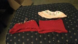 Three hand knitted doll skirts  London Ontario image 2