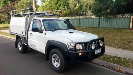2011 Nissan Gu patrol ute,rwc+12 months reg,207 ks.ready to work.