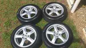 4 x Honda Accord 5x114.3 wheels Chinchilla Dalby Area Preview