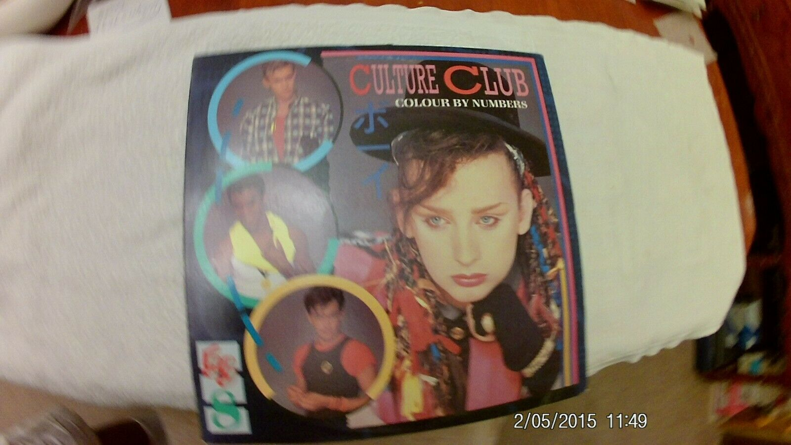CULTURE CLUB - COLOUR BY NUMBERS - LP 1983 Virgin Rock Pop - $7.00