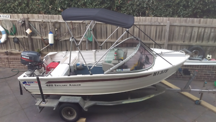 QUINTREX 420 ESTUARY ANGLER, MAKE A REASONABLE OFFER URGENT SALE