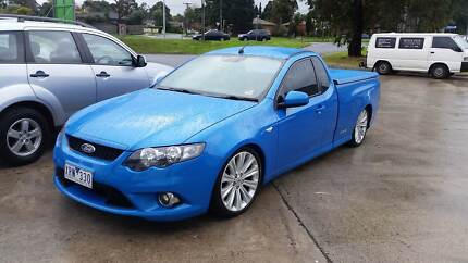 2010 Ford Falcon turbo ute