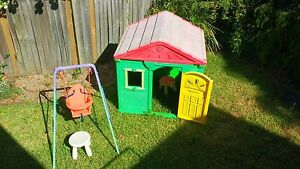 Cubby house and swing Hornsby Hornsby Area Preview