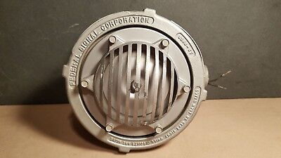 Federal Signal Explosion Proof Horn Buzzer Type 31x Excellent Working Condition