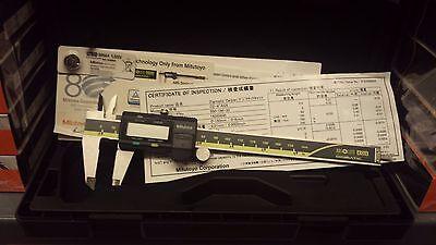 """Genuine Mitutoyo 6"""" (0-150mm) Digital Caliper 500-196-30.."""