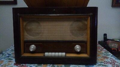 RADIO ANTIGUA CON TOCADISCO PHILIPS MODELO H5E75A, usado segunda mano  Almajar