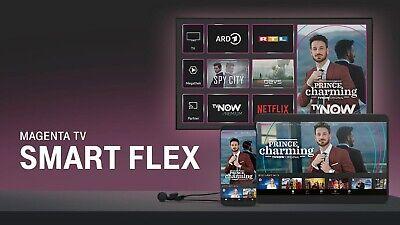 12 Monate Magenta TV SMART FLEX Gutschein inkl. TVNOW Premium, alle EM Spiele