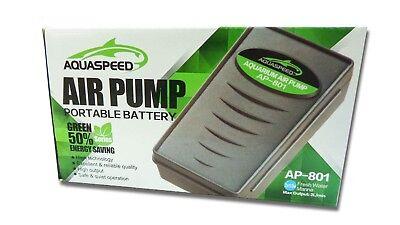 2pc Portable Fish Aquarium Battery Operated Backup Air Pump w/ Airstone Air Line