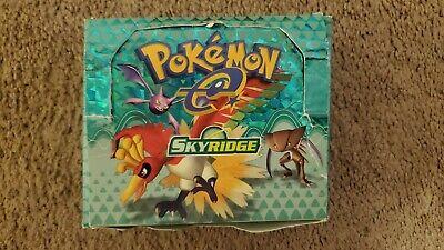 EMPTY Pokemon Skyridge Booster Box (no cards included) English WotC