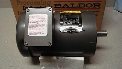 Baldor Vm3546t-5 Motor 1 Hp 1725 Rpm 3 Ph 60 Hz Brand New In Box