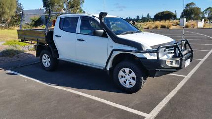 2015 5Spd Turbo Diesel 4WD MN Mitsibishi Triton GLX
