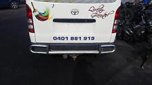 2005 - 2015 Toyota Hiace Rear Step + Tow Bar + all Nuts $ Bolts Sunshine Brimbank Area Preview