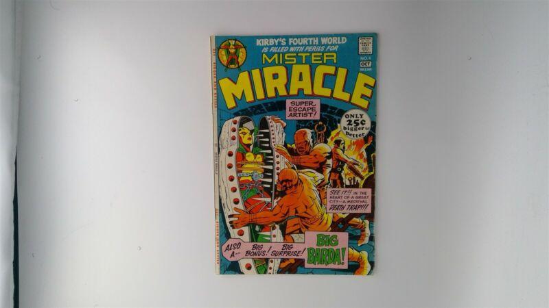 Mister Miracle #4 DC Comics 1971 VG/FN 1st Big Barda! Kirby!
