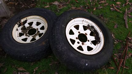 Suzuki  Sierra  or vitara wheels  Cradoc Huon Valley Preview