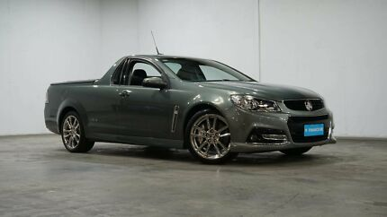 2014 Holden Ute VF MY14 SS V Ute Redline Grey 6 Speed Sports Automatic Utility Welshpool Canning Area Preview