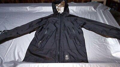 Adidas Vintage Windbreaker Jacket Medium Black