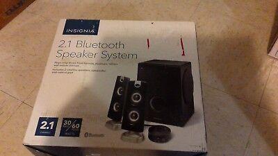 Insignia Ns Psb4721 2 1 Bluetooth Speaker System   Black  New