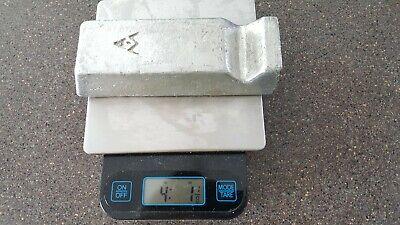 4lbs Tin Sn Metal Ingot 99.9 Pure Am Foundries Jewelry Solder Bullets