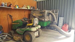 Ride on Mower, Materials collection unit and trailer Bowral Bowral Area Preview