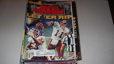 Mark Rypien   Redskins Win Superbowl  Sports Illustrated 2 3 1992
