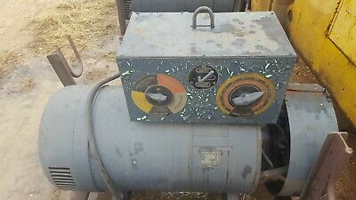 Lincoln Welder Sae 300 40 Volts A-601984 1800 Rpm 3 Phase 64.32 Amps 60 Cycles