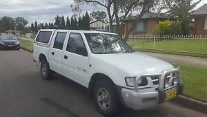 Holden rodeo 2002 lx dual cab with rego Hassall Grove Blacktown Area Preview