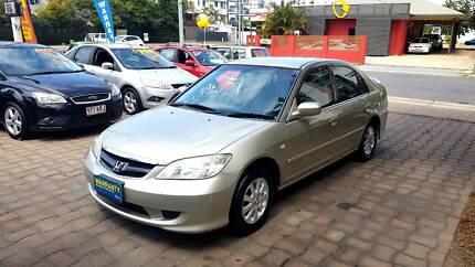 2005 Honda Civic, REGO - RWC - WARRANTY