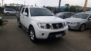 2014 Nissan Navara ST Duel Cab Tray Ute AUTO TURBO DIESEL 4X4 Williamstown North Hobsons Bay Area Preview