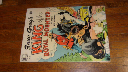DELL FOUR COLOR COMIC #265, KING OF THE ROYAL MOUNTED, 1950