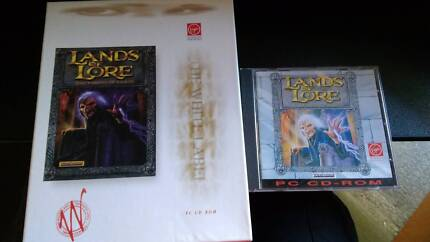 Vintage PC game: Lands of Lore