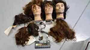 Hairdressing mannequin heads and hair swatches Bakery Hill Ballarat City Preview